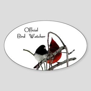 Official Bird Watcher Sticker