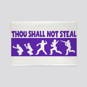 SHALL NOT STEAL Rectangle Magnet
