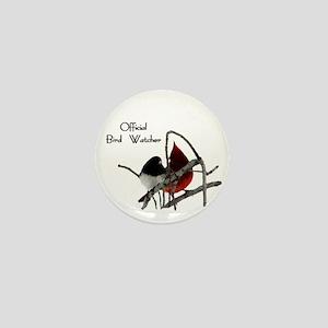 Official Bird Watcher Mini Button