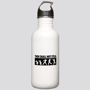 SHALL NOT STEAL Stainless Water Bottle 1.0L