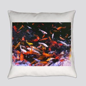 Dallas Koi Everyday Pillow
