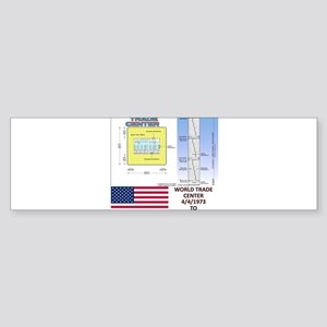 World-Trade-Center-Floor-Plans Bumper Sticker