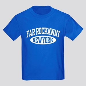 Far Rockaway New York Kids Dark T-Shirt