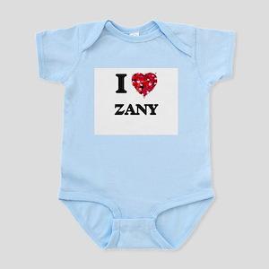 I love Zany Body Suit