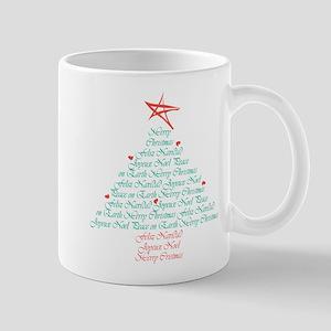 Multi Language Seasons Greetings Mug