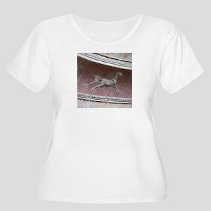 Pompeii Bath Detail Plus Size T-Shirt