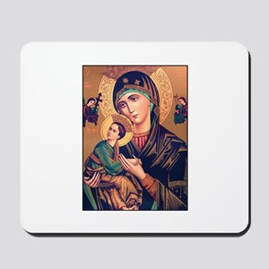 Virgin Mary - Our Lady of Per Mousepad