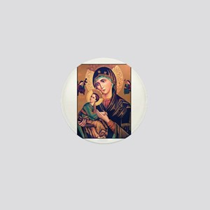 Virgin Mary - Our Lady of Per Mini Button