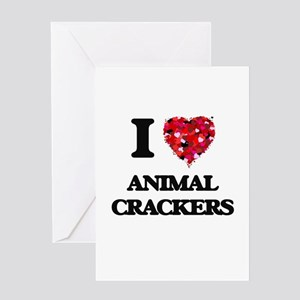 I love Animal Crackers Greeting Cards