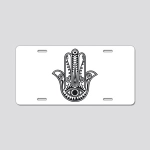 Hamsa Hand Aluminum License Plate