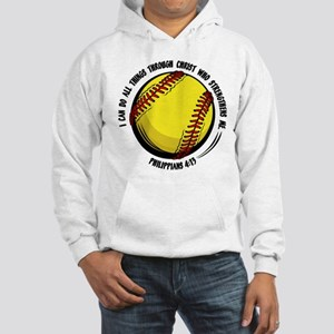 PHILIPPIANS 4:13 Hooded Sweatshirt