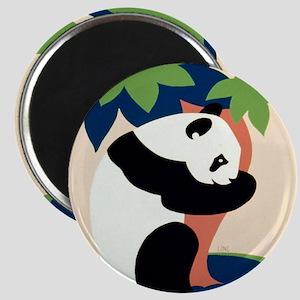 Panda_Hugging_Tree Magnets