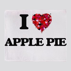 I love Apple Pie Throw Blanket
