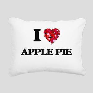 I love Apple Pie Rectangular Canvas Pillow