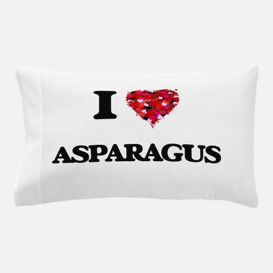I love Asparagus Pillow Case