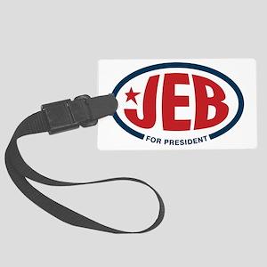 Jeb Bush for president Large Luggage Tag