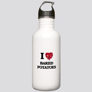 I love Baked Potatoes Stainless Water Bottle 1.0L