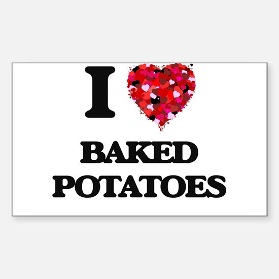 I love Baked Potatoes Decal