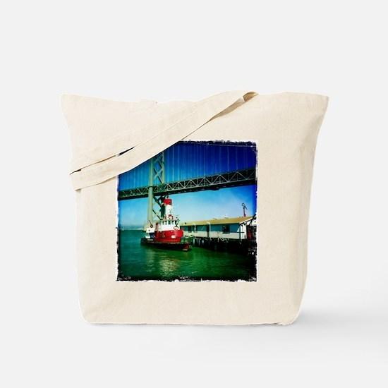 SF Fire Boat Tote Bag