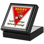 Randy Raccoon Keepsake Box