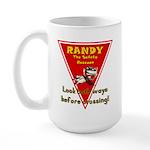 Randy Raccoon Large Mug