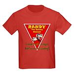 Randy Raccoon Kids Dark T-Shirt