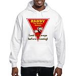 Randy Raccoon Hooded Sweatshirt