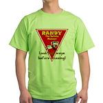 Randy Raccoon Green T-Shirt