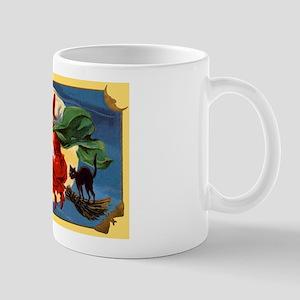 Halloween Flying Witch Mug