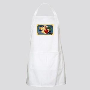 Halloween Flying Witch BBQ Apron