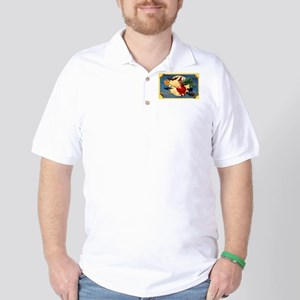 Halloween Flying Witch Golf Shirt