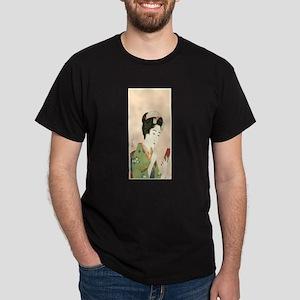 Goyo-Hashiguchi-Lady-and-Lip-Stick T-Shirt