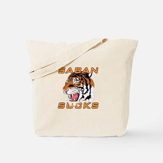 Saban Sucks Tote Bag