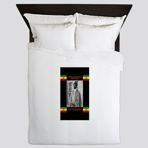 Haile-Selassie-Jah_Rastafari Queen Duvet