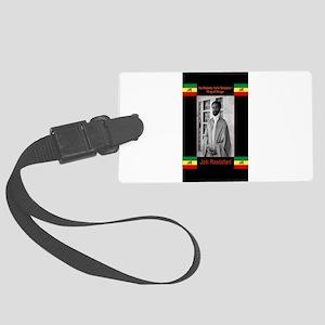 Haile-Selassie-Jah_Rastafari Large Luggage Tag
