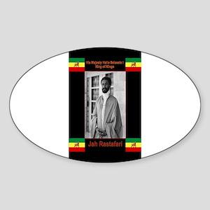 Haile-Selassie-Jah_Rastafari Sticker