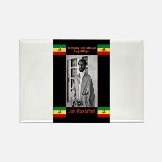 Haile-Selassie-Jah_Rastafari Magnets
