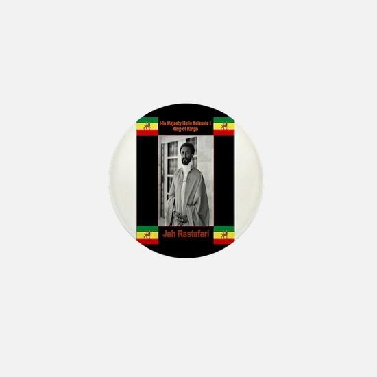 Haile-Selassie-Jah_Rastafari Mini Button