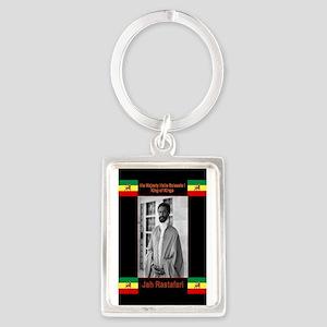 Haile-Selassie-Jah_Rastafari Keychains