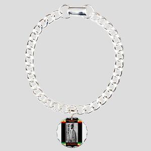 Haile-Selassie-Jah_Rasta Charm Bracelet, One Charm