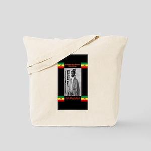 Haile-Selassie-Jah_Rastafari Tote Bag