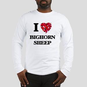 I love Bighorn Sheep Long Sleeve T-Shirt