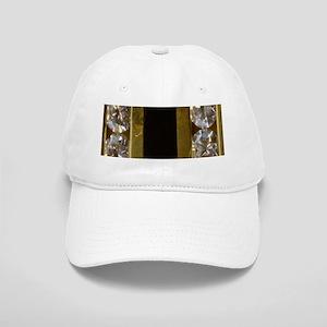 diamond_black_coral_gold_ Cap