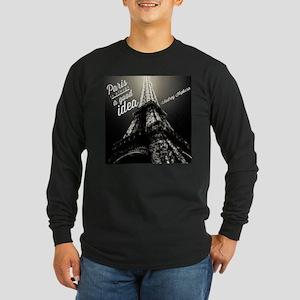 Audrey Hepburn Paris Long Sleeve T-Shirt
