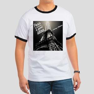 Audrey Hepburn Paris T-Shirt