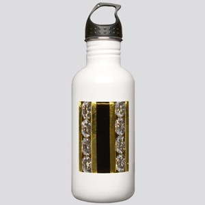 diamond_black_coral_go Stainless Water Bottle 1.0L