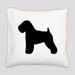 Wheaten Terrier Square Canvas Pillow