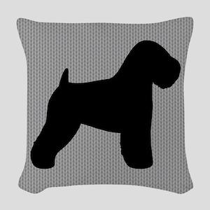 Wheaten Terrier Woven Throw Pillow