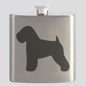 Wheaten Terrier Flask