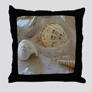 Beautiful Seashells Throw Pillow